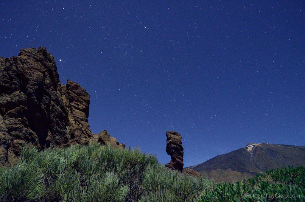 El Teide desde los Roques de García