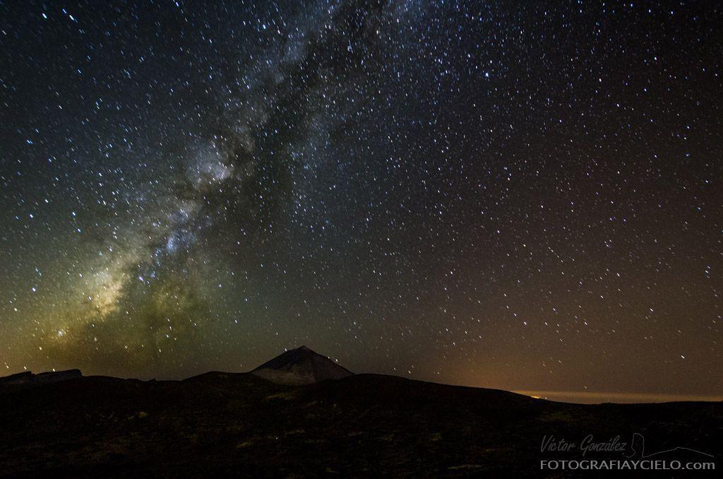 Vía Láctea y Teide