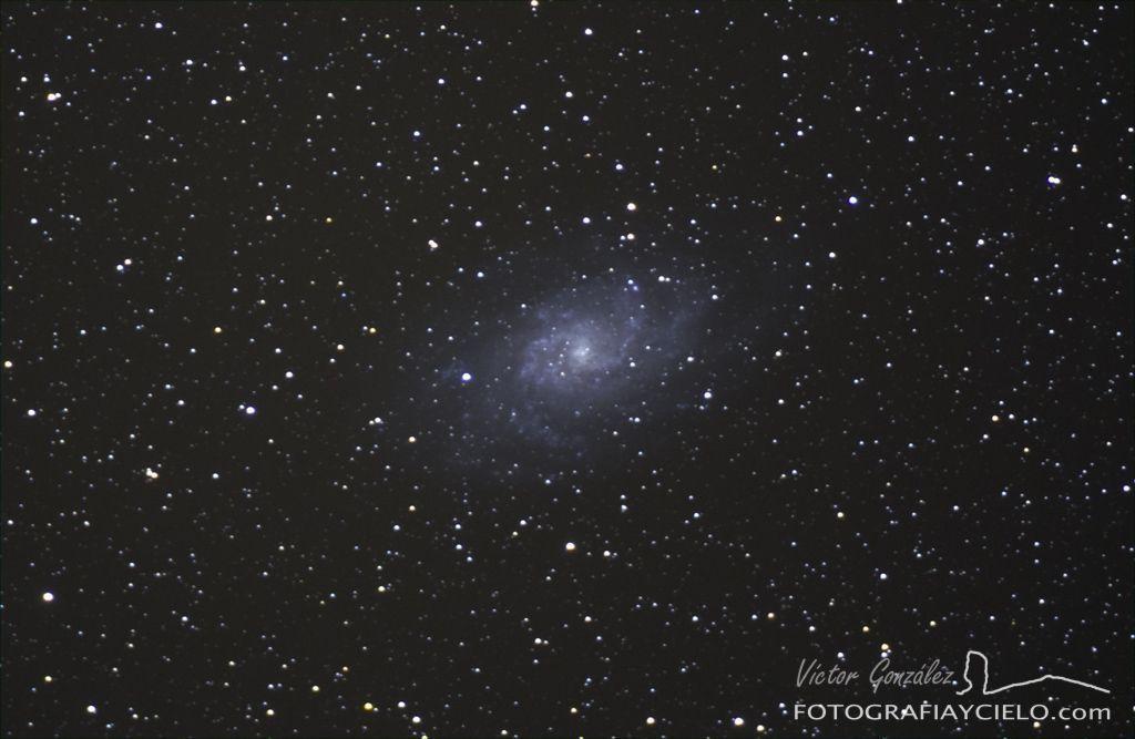 fotografia galaxia: