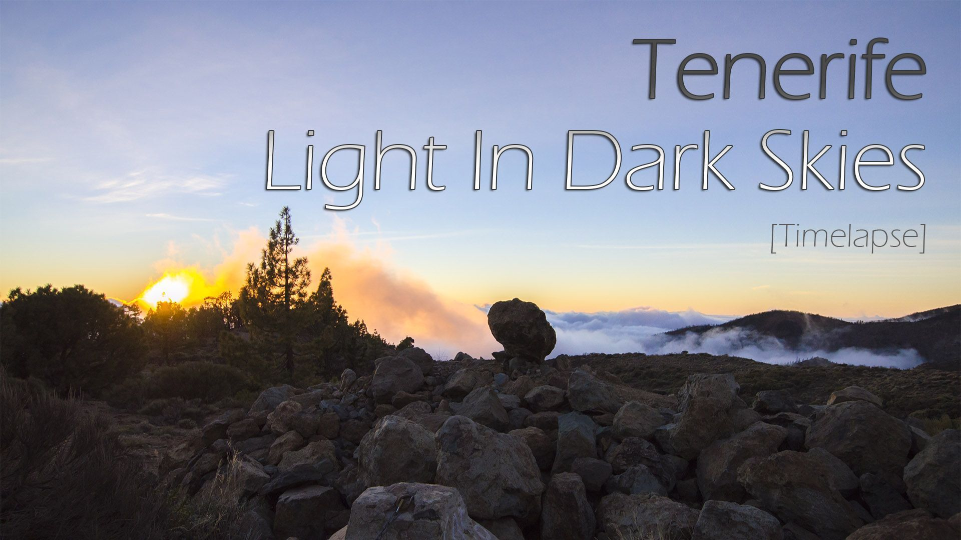 "Portada timelapse ""Tenerife, Light In Dark Skies"""