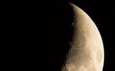 Conjunción de Saturno y la Luna