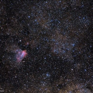 M17 Nebulosa Omega
