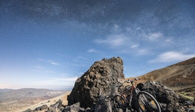 Bici, Huevos del Teide y Vía Láctea