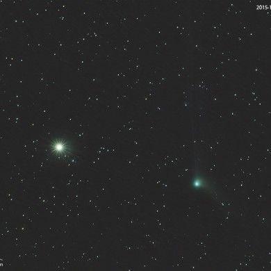 Cometa C/2013 US10 (Catalina) el 31 de diciembre de 2015