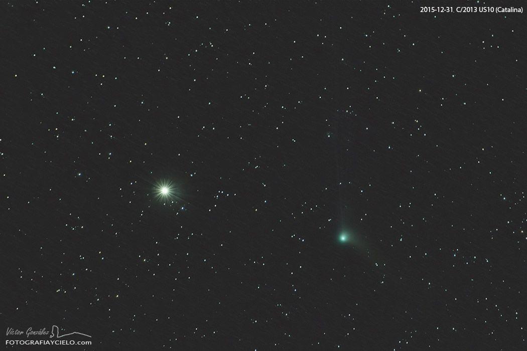 Cometa C/2013 US10 (Catalina). Fecha 31/12/2015