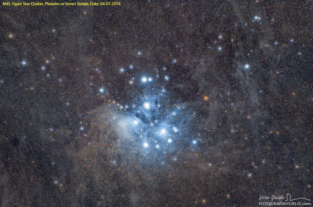 The Pleiades, M45