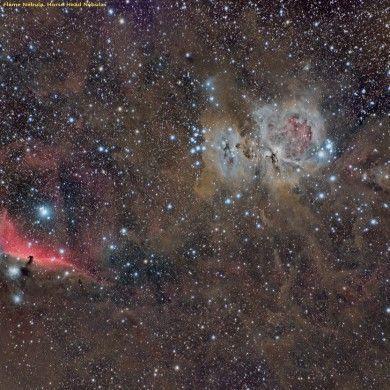 Región central de Orión, M42