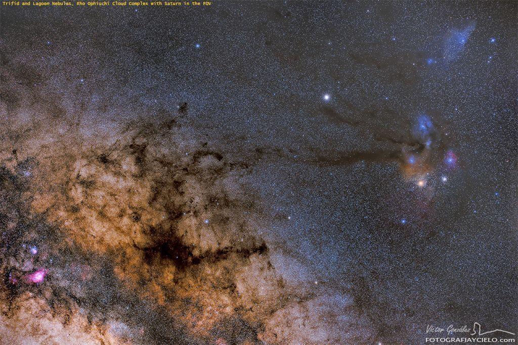 Sagittarius, Scorpius and Ophiuchus Constellations
