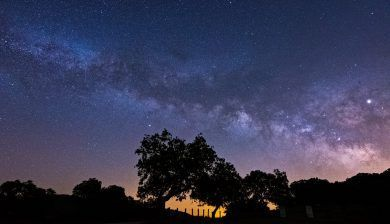 First Milky Way of the Season 2019